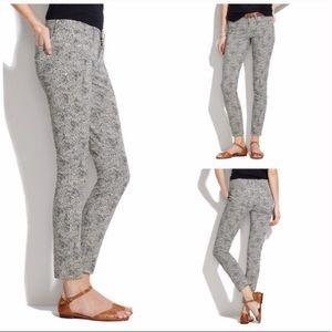 Madewell Skinny Skinny Ankle Safari Jeans